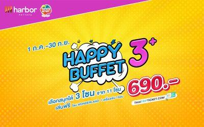 Happy 3 Buffet+